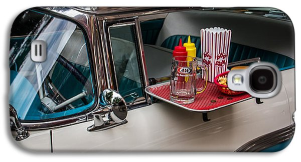 Fine Art Photography Galaxy S4 Cases - Car Hop Galaxy S4 Case by Perry Webster