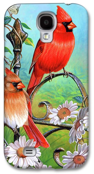 Cardinal Day 3 Galaxy S4 Case by JQ Licensing