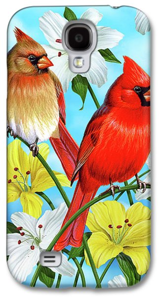 Cardinal Day Galaxy S4 Case by JQ Licensing
