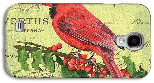 Cardinal Peace Galaxy S4 Case by Debbie DeWitt