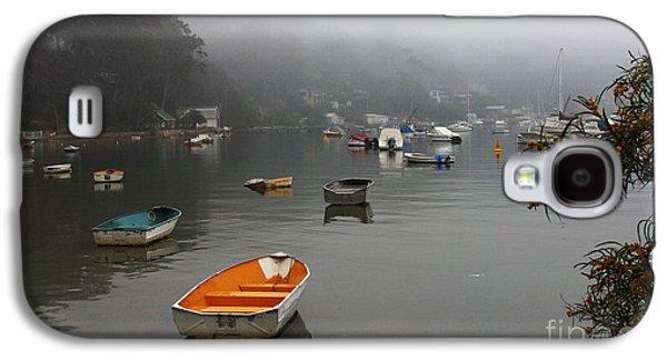Careel Bay Mist Galaxy S4 Case by Avalon Fine Art Photography