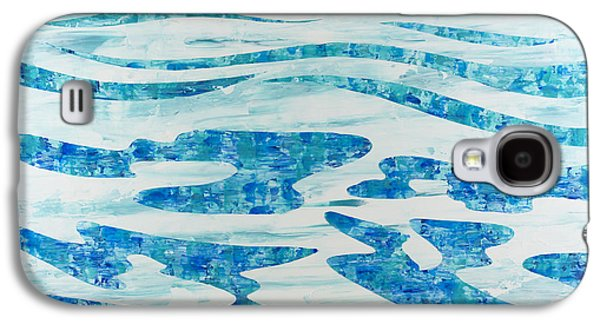 Beautiful Galaxy S4 Cases - Caribbean Blue Galaxy S4 Case by Sean Corcoran