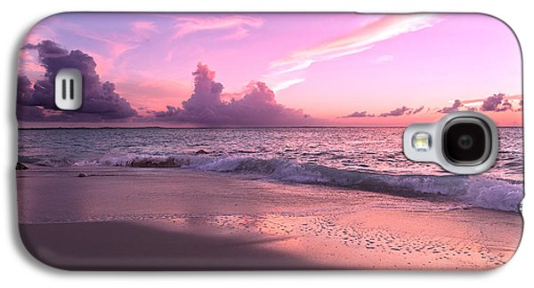 Timing Galaxy S4 Cases - Caribbean Tranquility  Galaxy S4 Case by Betsy C  Knapp