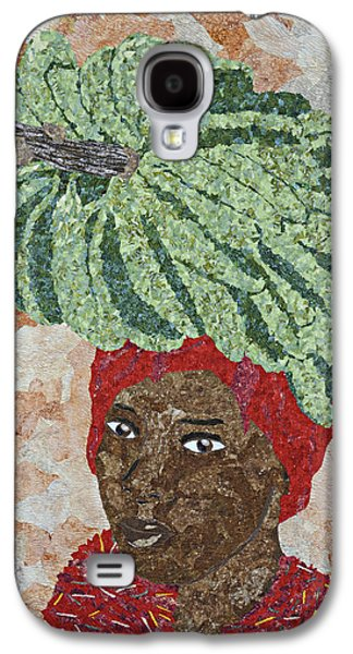 African-americans Tapestries - Textiles Galaxy S4 Cases - Caribbean Woman Galaxy S4 Case by Pauline Barrett