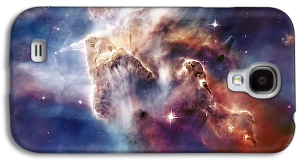 Colorful Abstract Galaxy S4 Cases - Carina Nebula Pillar Galaxy S4 Case by The  Vault - Jennifer Rondinelli Reilly