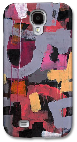 Abstract Expressionist Galaxy S4 Cases - Carnaval Galaxy S4 Case by Douglas Simonson
