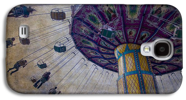 Carnival Ride At The Fair Galaxy S4 Case by Garry Gay