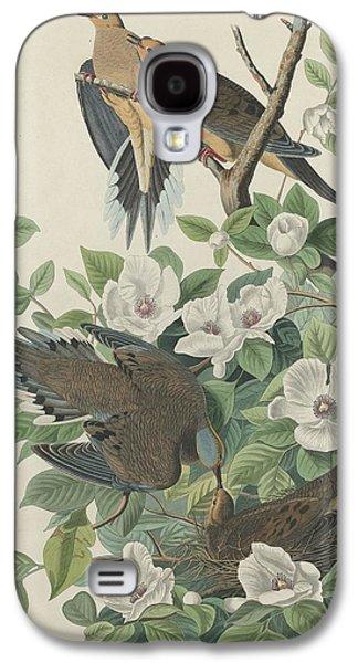 Carolina Pigeon Or Turtle Dove Galaxy S4 Case by John James Audubon