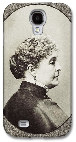 First Lady Drawings Galaxy S4 Cases - Caroline Lavinia Scott Harrison Known Galaxy S4 Case by Vintage Design Pics