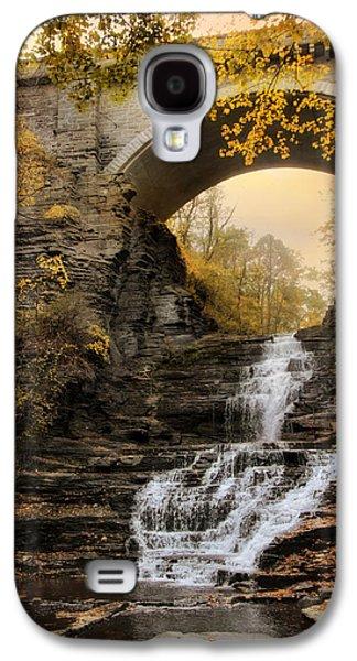 Cascadilla Falls Galaxy S4 Case by Jessica Jenney