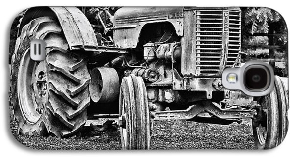 Machinery Galaxy S4 Cases - Case Farm Tractor Galaxy S4 Case by Daniel Hagerman