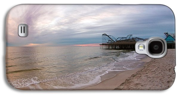 Casino Pier Sunrise Galaxy S4 Case by Robert Siliato