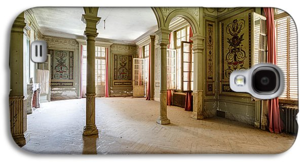 Ancient Galaxy S4 Cases - Castle Ball Hall - Urban Exploration Galaxy S4 Case by Dirk Ercken
