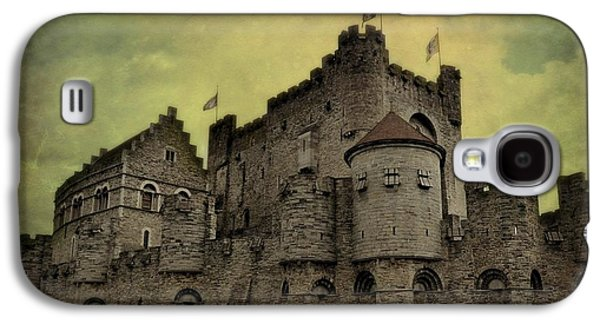 Fantasy Photographs Galaxy S4 Cases - Castle of the Counts in Ghent Belgium Galaxy S4 Case by Toni Abdnour