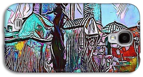 castles blue - My WWW vikinek-art.com Galaxy S4 Case by Viktor Lebeda