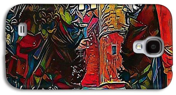 castles - My WWW vikinek-art.com Galaxy S4 Case by Viktor Lebeda