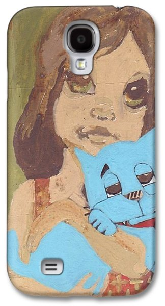 Cat 1 Galaxy S4 Case by William Douglas