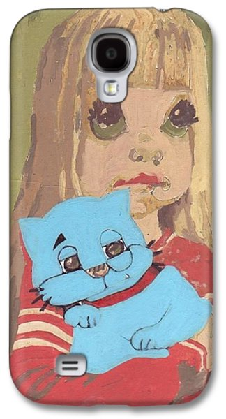 Cat 2 Galaxy S4 Case by William Douglas