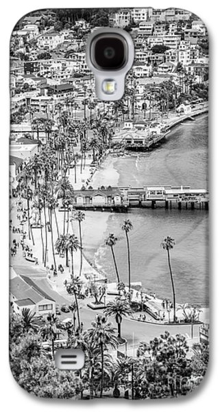 Catalina Island Aerial Black And White Photo Galaxy S4 Case by Paul Velgos
