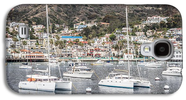 Catalina Island Avalon Bay Boats  Galaxy S4 Case by Paul Velgos