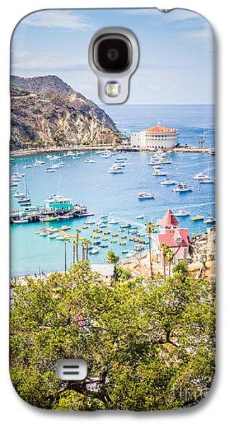 Catalina Island Avalon Bay Vertical Photo Galaxy S4 Case by Paul Velgos