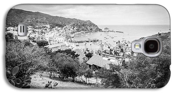 Catalina Island Avalon California Black And White Photo Galaxy S4 Case by Paul Velgos