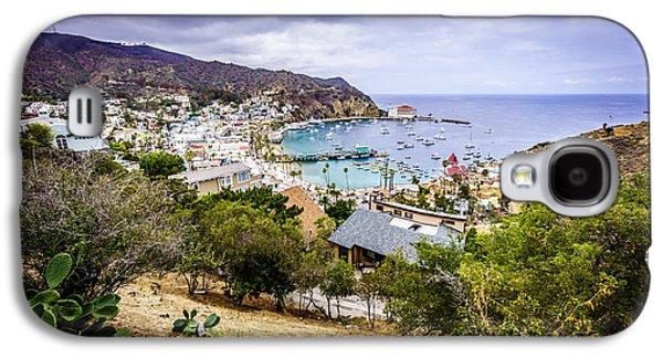 Catalina Island Avalon California From Above Galaxy S4 Case by Paul Velgos
