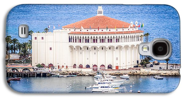 Historical Pictures Galaxy S4 Cases - Catalina Island Casino Picture Galaxy S4 Case by Paul Velgos