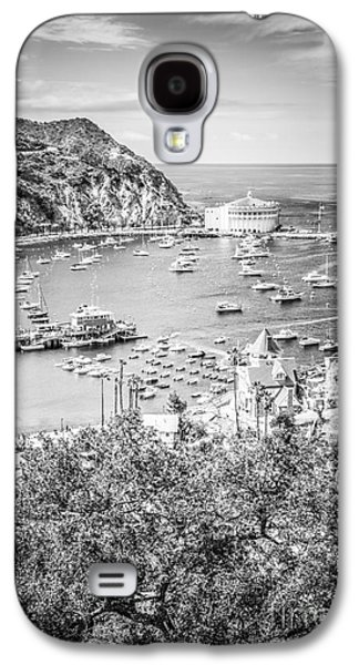 Catalina Island Vertical Black And White Photo Galaxy S4 Case by Paul Velgos