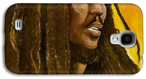 Jamaican Paintings Galaxy S4 Cases - Catch a Fire Galaxy S4 Case by Ikahl Beckford