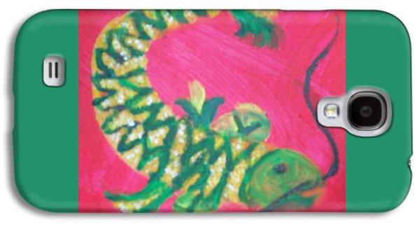 Catfish Rolled In Cornmeal Galaxy S4 Case by Seaux-N-Seau Soileau
