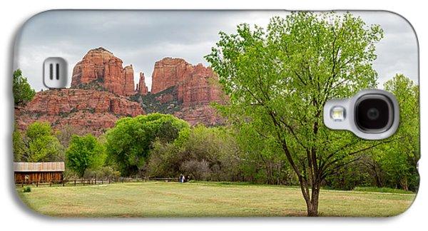 Cathedral Rock Galaxy S4 Case by Jon Manjeot