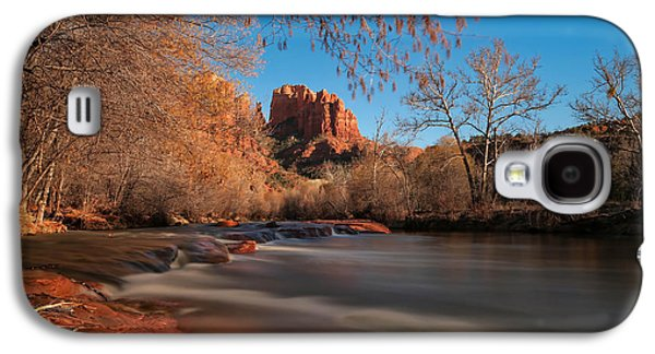 Cathedral Rock Galaxy S4 Cases - Cathedral Rock Sedona Arizona Galaxy S4 Case by Larry Marshall