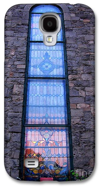 Original Photographs Galaxy S4 Cases - Cathedral Stained Glass Galaxy S4 Case by Colleen Kammerer