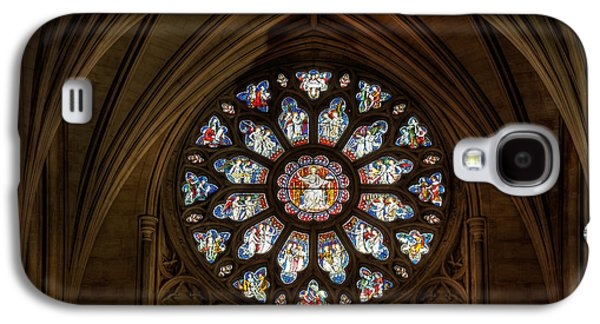Windows Digital Galaxy S4 Cases - Cathedral Window Galaxy S4 Case by Adrian Evans