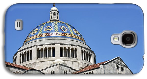 Religious Galaxy S4 Cases - Catholic University of America -  Galaxy S4 Case by Brendan Reals