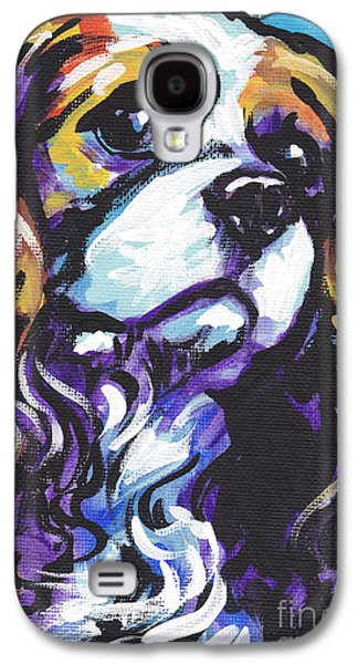 Puppies Galaxy S4 Cases - Cavalier King Charles Spaniel Galaxy S4 Case by Lea