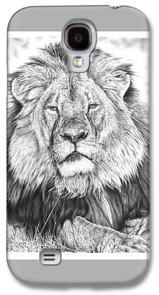 Cecil The Lion  Galaxy S4 Case by Remrov