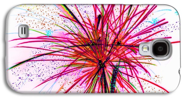 4th July Mixed Media Galaxy S4 Cases - Celebrate Galaxy S4 Case by Kathy Franklin