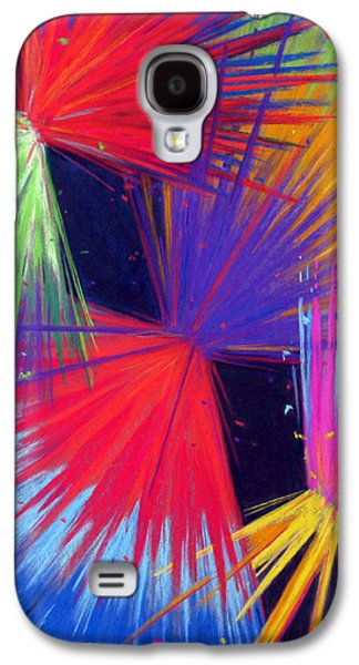 Abstract Pastels Galaxy S4 Cases - Celebrate Galaxy S4 Case by Tanja Ware