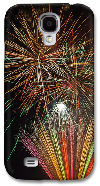 Celebration Fireworks Galaxy S4 Case by Garry Gay
