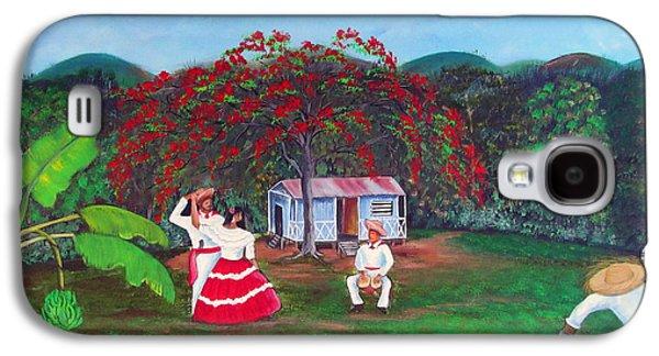 Puerto Rico Galaxy S4 Cases - Celebration Galaxy S4 Case by Gloria E Barreto-Rodriguez