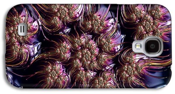 Symetry Galaxy S4 Cases - Celestial Dream Abstract Galaxy S4 Case by Georgiana Romanovna