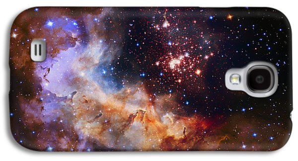 The Void Galaxy S4 Cases - Celestial Fireworks Galaxy S4 Case by Nasa