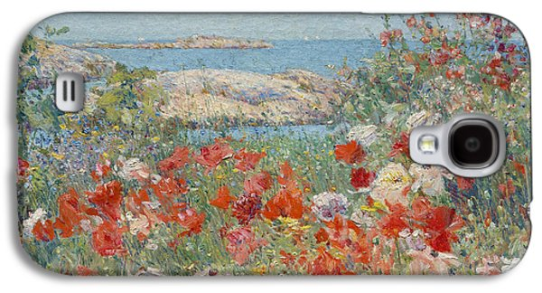 Celia Thaxter's Garden, Isles Of Shoals, Maine Galaxy S4 Case by Childe Hassam