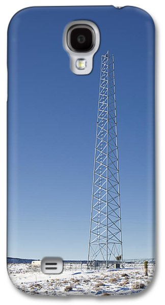 Cellphone Galaxy S4 Cases - Cellphone Tower Galaxy S4 Case by David Buffington