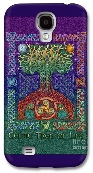 Celtic Tree Of Life Galaxy S4 Case by Kristen Fox
