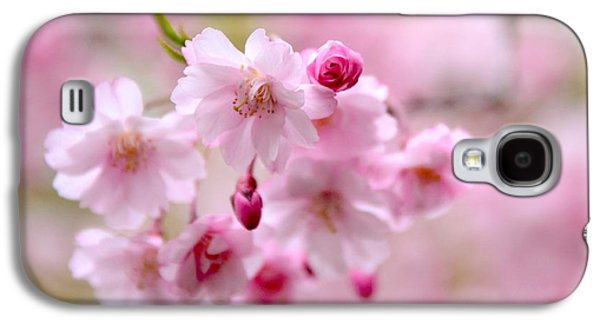 Cherry Blossoms Galaxy S4 Cases - Cerise  Galaxy S4 Case by Jessica Jenney