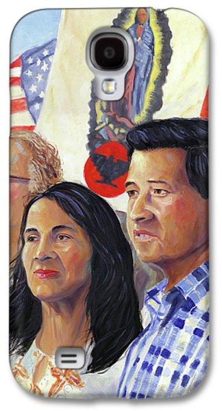 Cesar Chavez And La Causa Galaxy S4 Case by Steve Simon