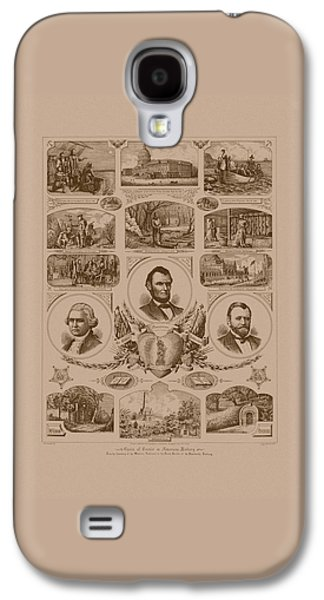George Washington Galaxy S4 Cases - Chain of events in American History Galaxy S4 Case by War Is Hell Store